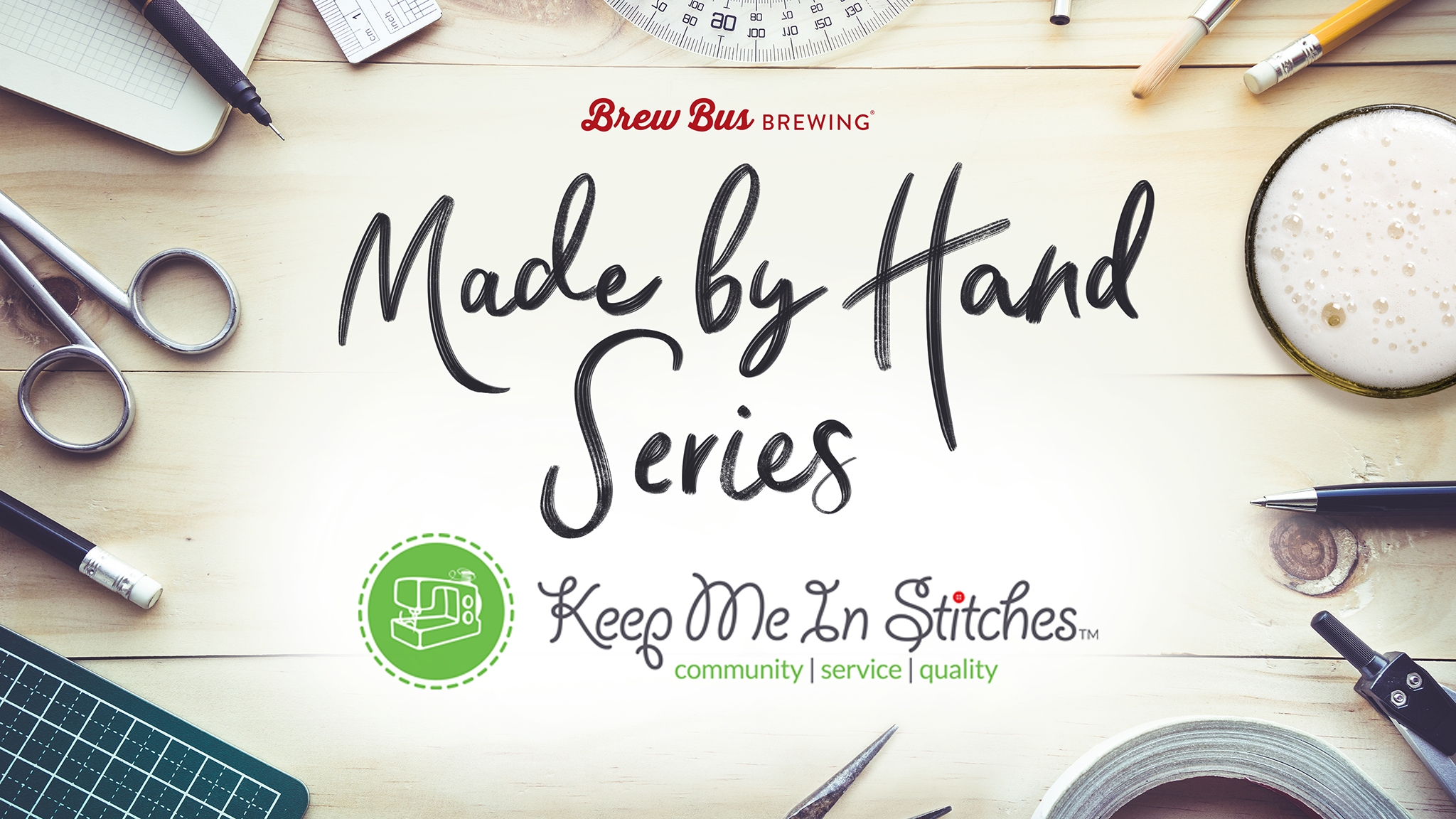 Made By Hand series