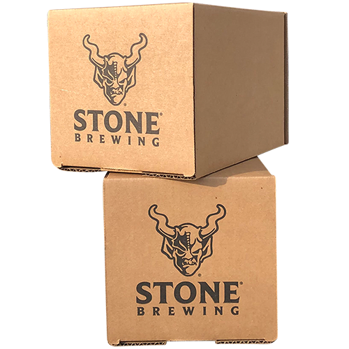 custom printed beer can shipping boxes
